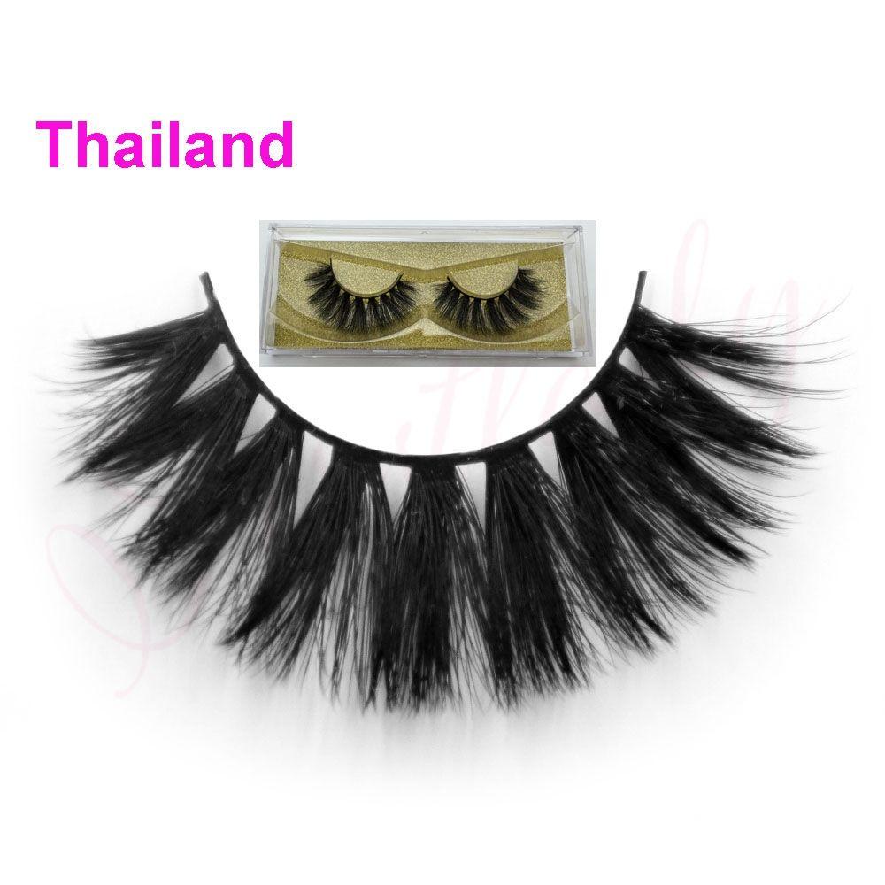 Free Shipping Handmade Style Thailand 3d Silk Strip Lashes 007mm