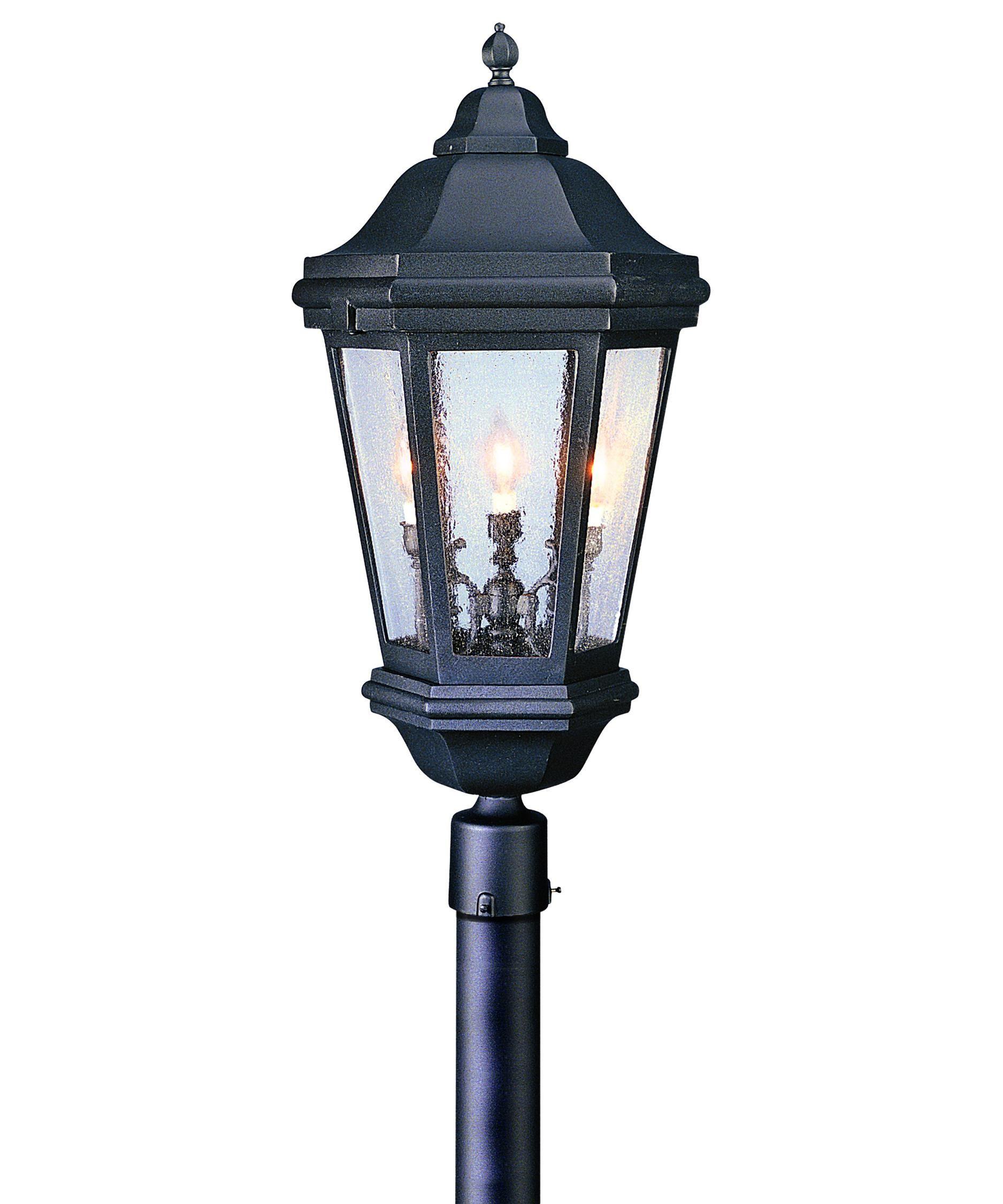 Verona 34 Inch Tall 3 Light Outdoor Post Lamp Capitol Lighting Troy Lighting Post Lights Outdoor Post Lights