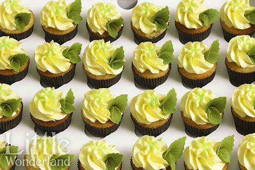 Mini cupcakes de mojito | Mojito mini cupcakes