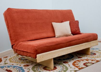 Ash L futon frame  Organic and non-toxic sofas and futons