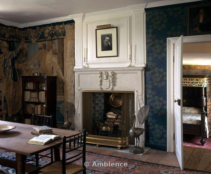 William Morris Interiors Kelmscott Manor William Morris Homes Gallery Pinterest William