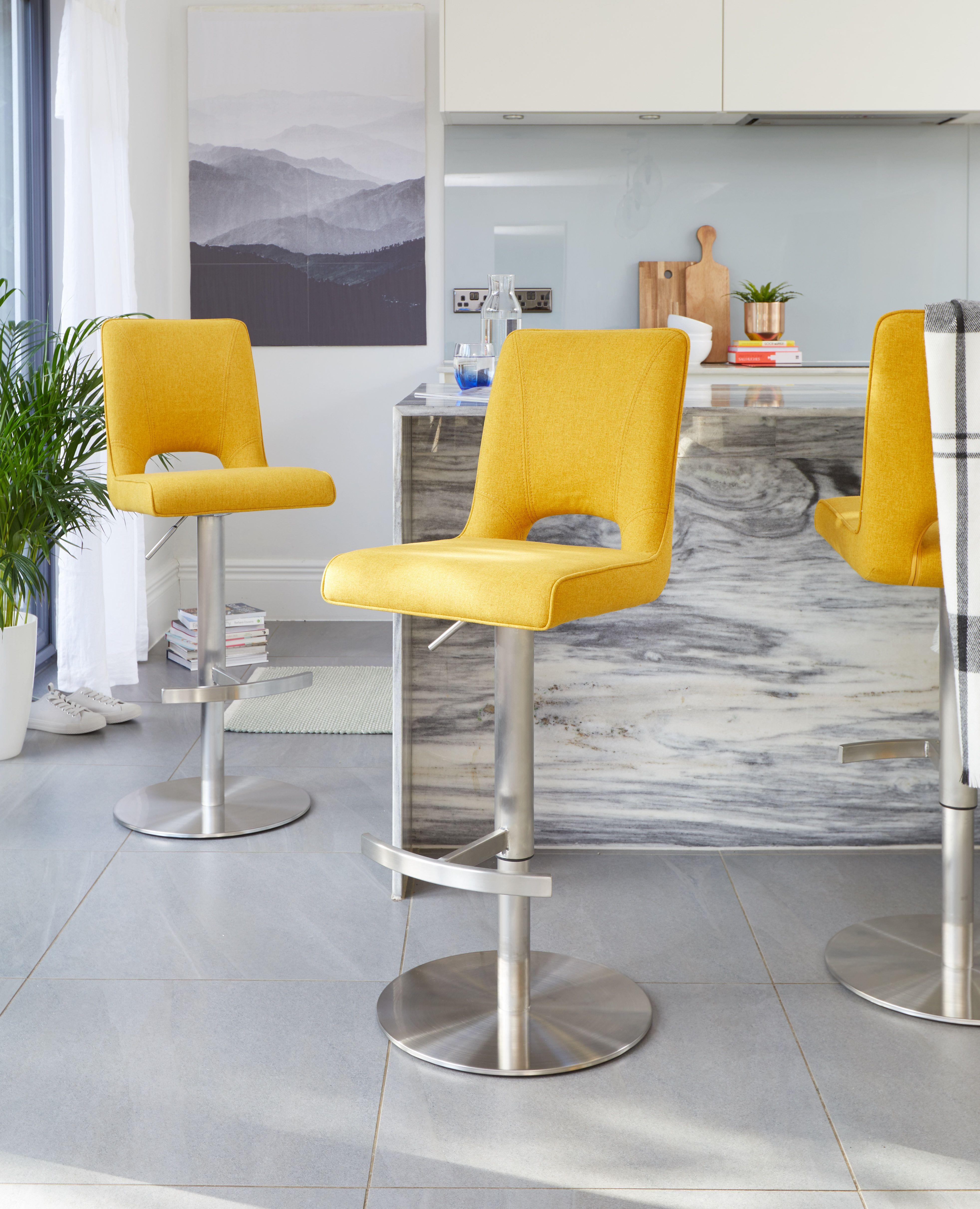 Yellow Kitchen Stools