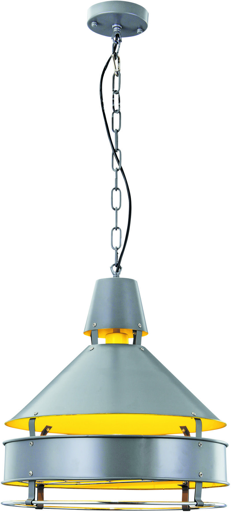 Cpd by elegant lighting industrial collection grey finish