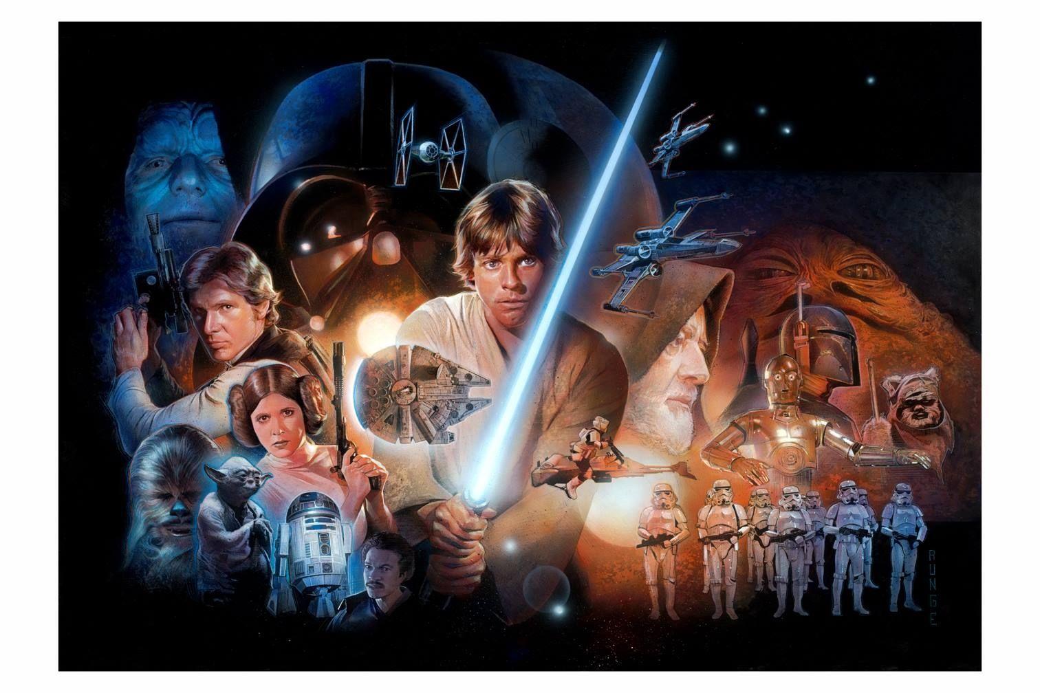 Star Wars Runge In Conny Valentina' Comic Art