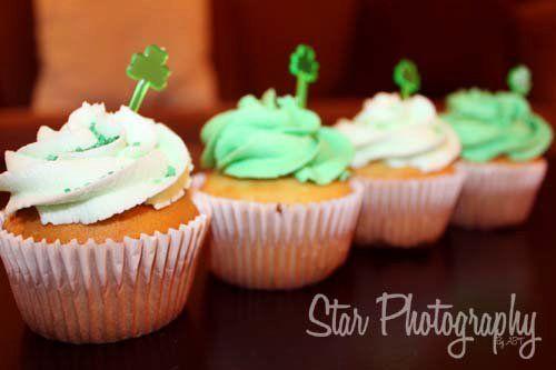 St Patties Cupcakes