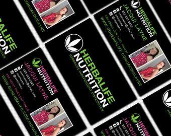 De Bästa Business Cardbilderna På Pinterest - Herbalife business card templates