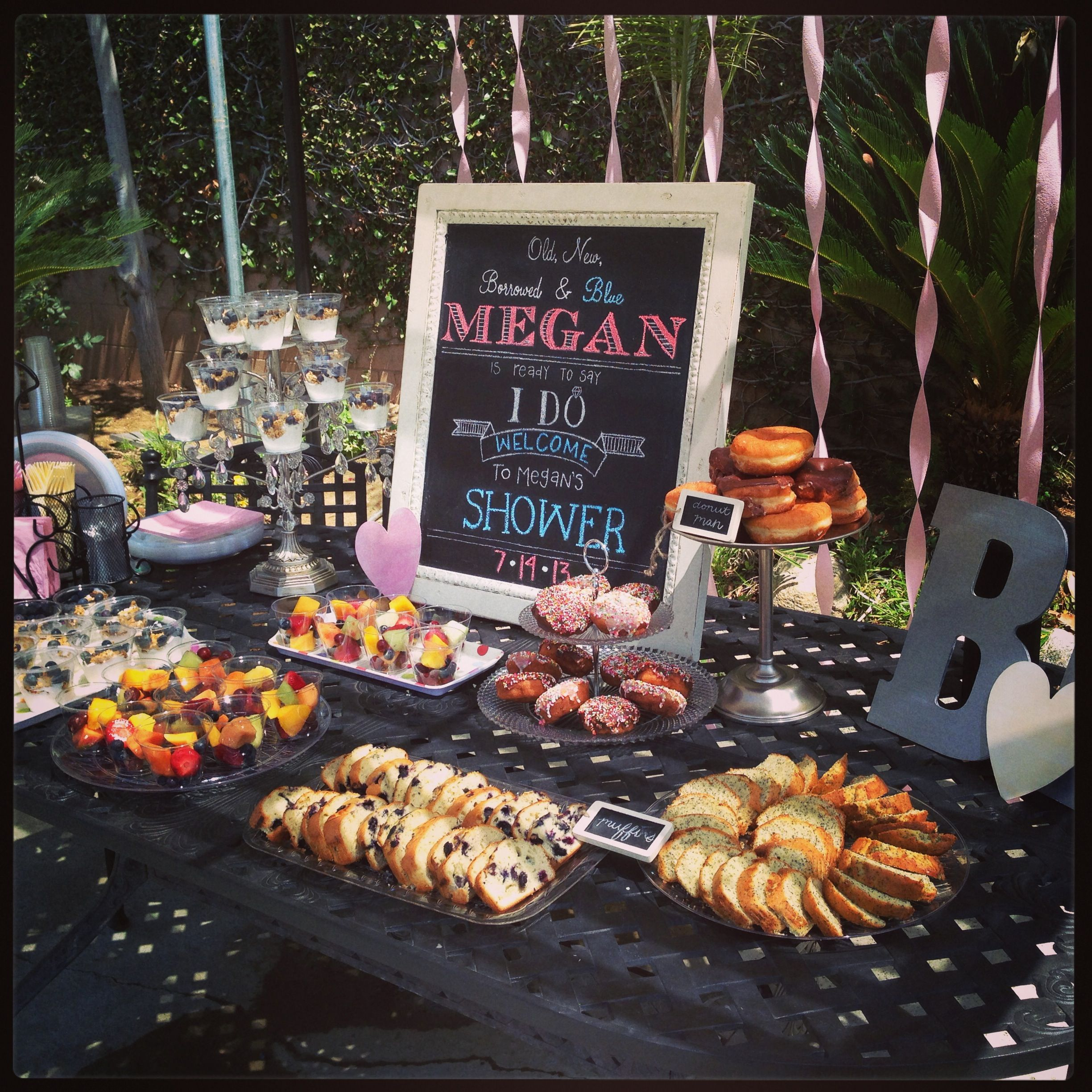 Best Food For Wedding Buffet: Old, New, Borrowed, & Blue... Ready To Say I Do! ;) Great