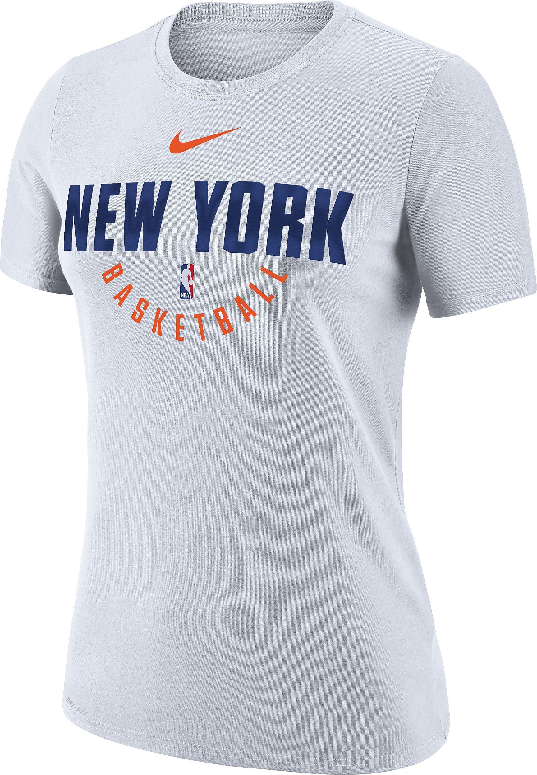 f6478006 New York Knicks Nike Dry Women's NBA T-Shirt | Nike, 'Just Do It ...