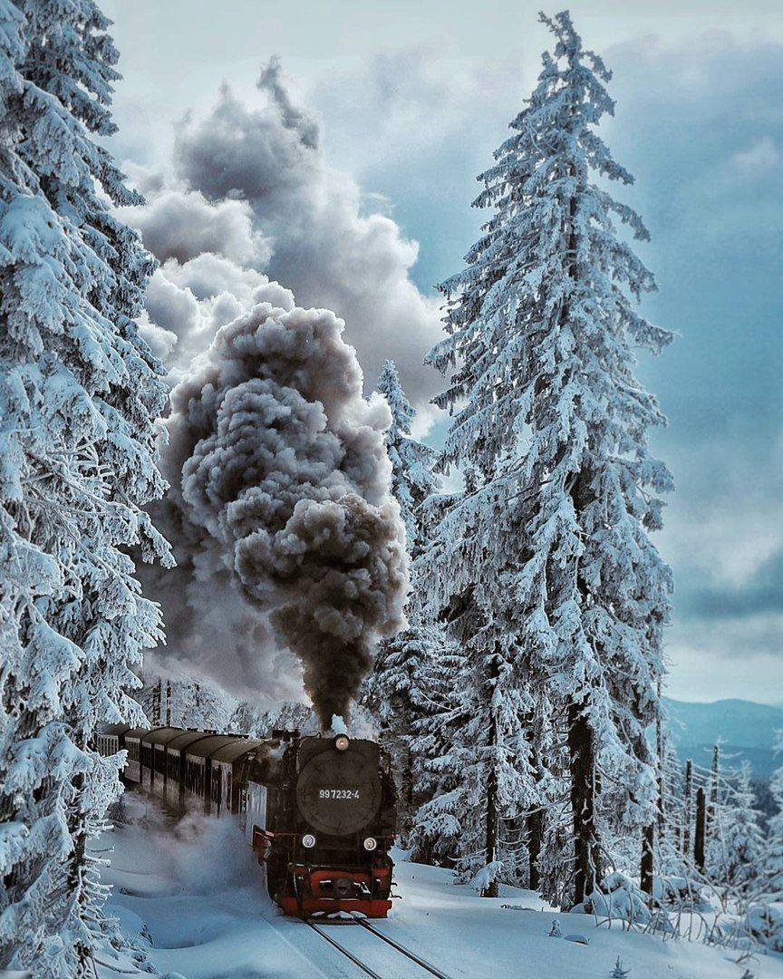 Winter Steam Train Forest Locomotive Steam Trains Train Train Pictures Hd wallpaper winter snow train forest