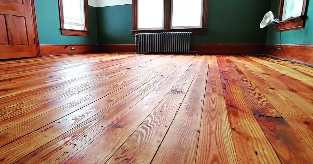 We Decided To Finish Our 100 Year Old Pine Floors With Tung Oil Couldn T Be Happier With The Result Big Thanks To To Ou Pine Floors Real Milk Paint Tung Oil