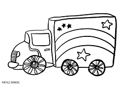 Disegni Di Camion Da Stampare E Colorare Gratis Portale Bambini Coloringpages Colorinspiration Coloriage Tru Disegni Disegni Da Colorare Disegni A Mano