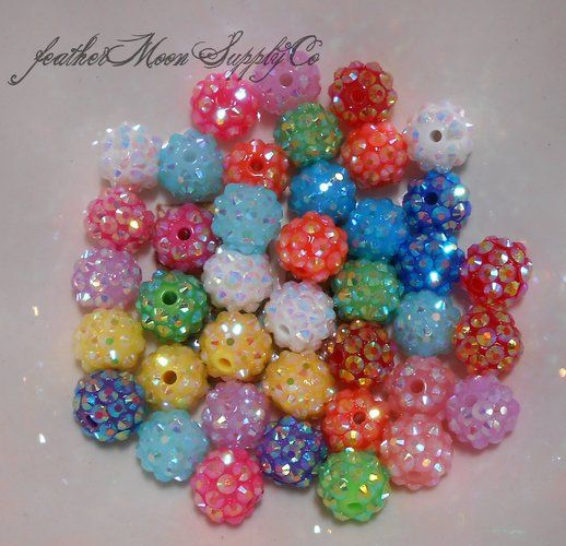 '30 Shamballa Disco Ball Beads' is going up for auction at  6pm Tue, Nov 20 with a starting bid of $5.