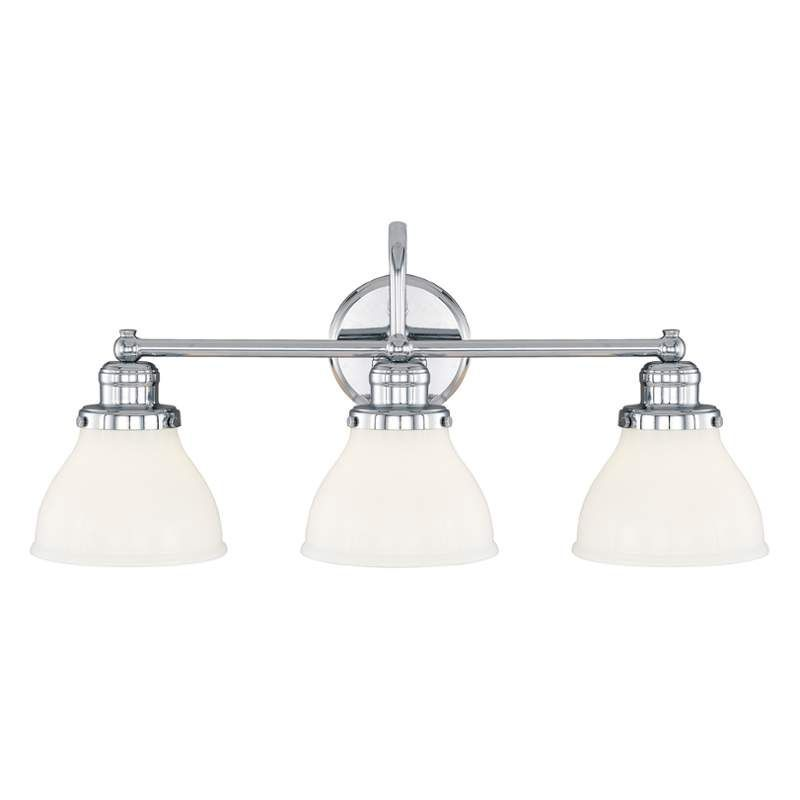 Capital Lighting 8303 128 Baxter 3 Light Bathroom Vanity Light Chrome Indoor Lighting Bathroom Fixtures