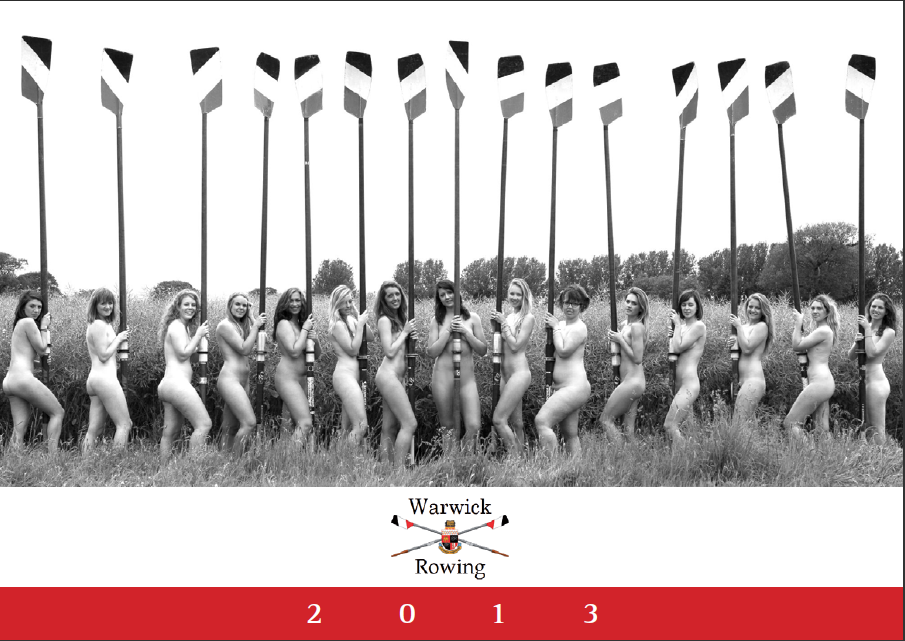 Warwick rowing team calendar