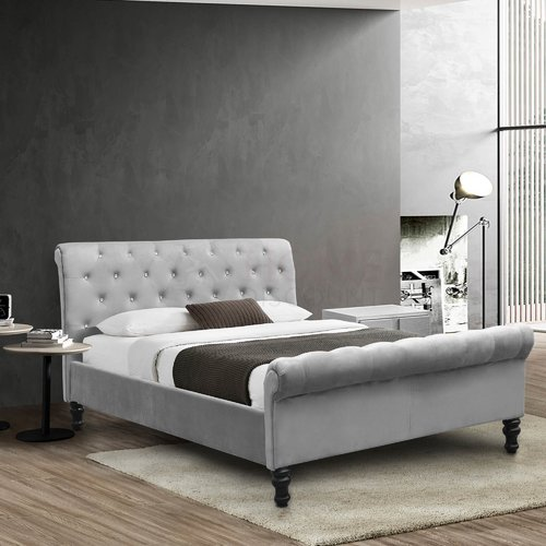Rosdorf Park Unger Upholstered Bed Frame Upholstered Bed Frame