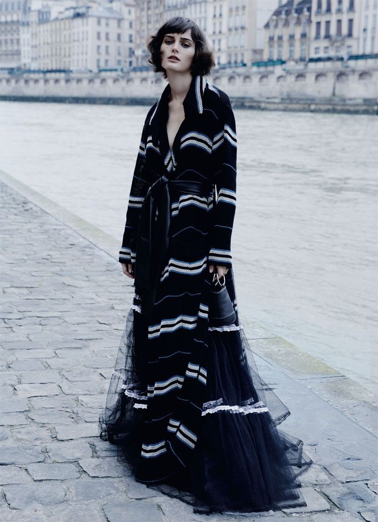 Sibui Nazarenko Tries On the Pre-Fall Collections in Marie ...