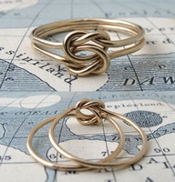 nautical knot ring