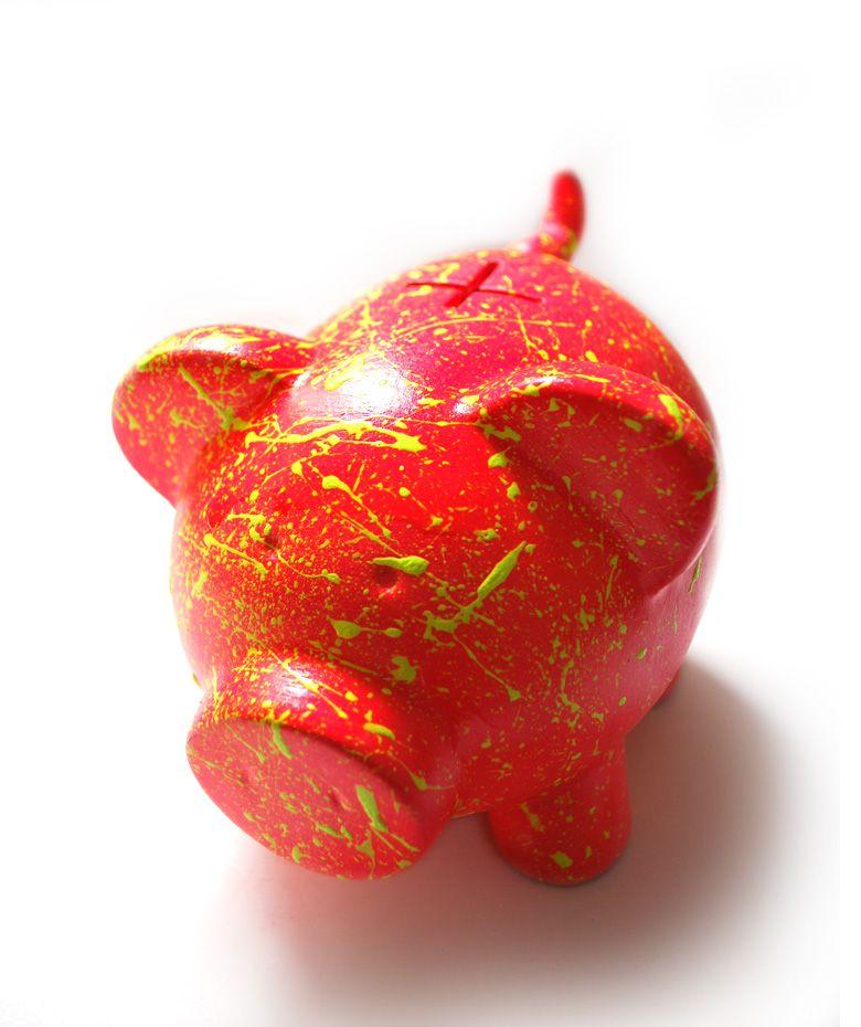 Fucsia Multicolor - Alcancía. $30.000 COP. Cómprala aquí--> https://www.dekosas.com/productos/regalos-originales-alcancias-oing-oing-basico-fucsia-detalle