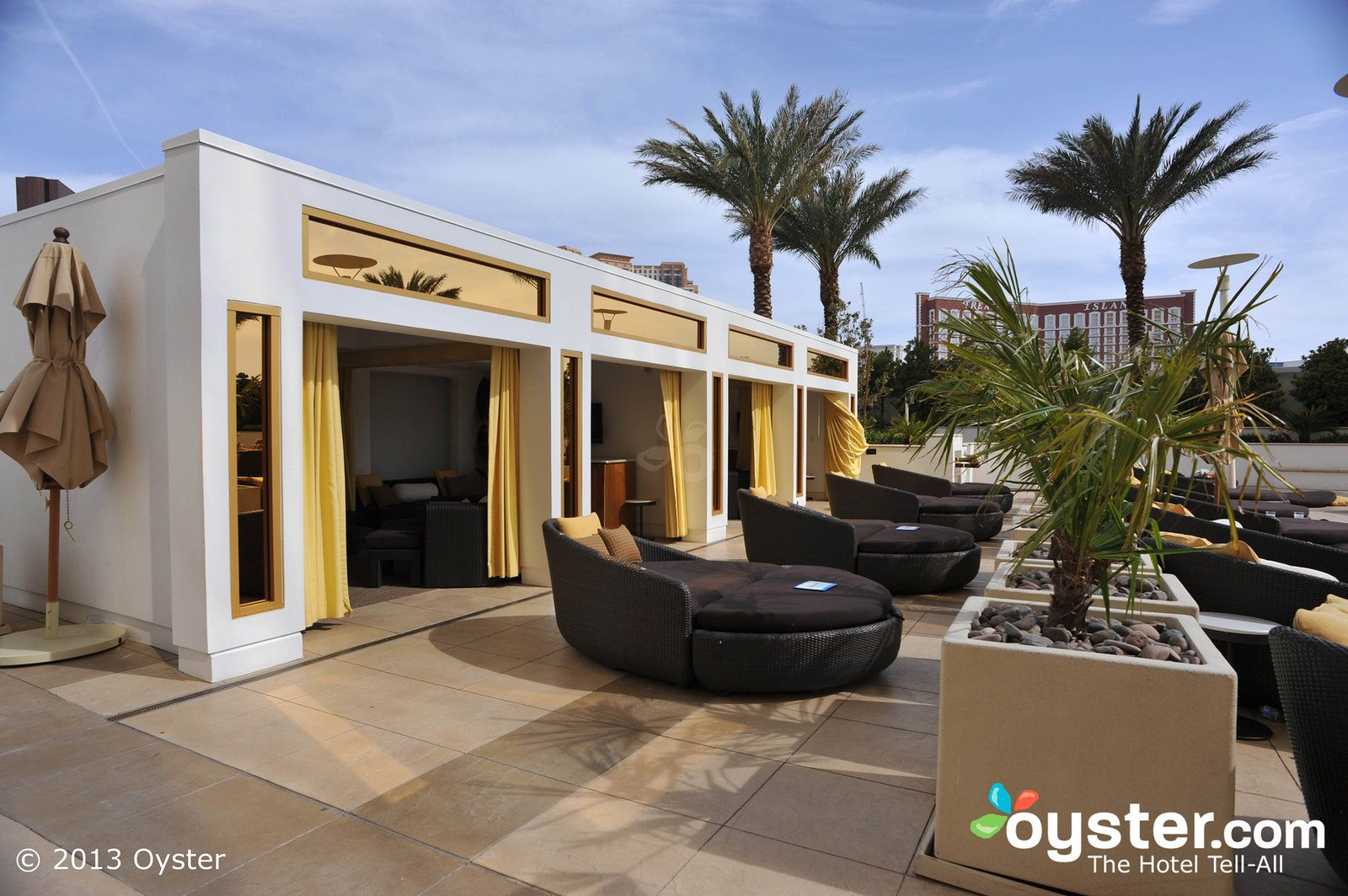 Pool Cabanas Full Screen Poolside Cabanas At The Trump International Hotel T Penthouse For Sale Trump International Hotel Las Vegas Trump International Hotel