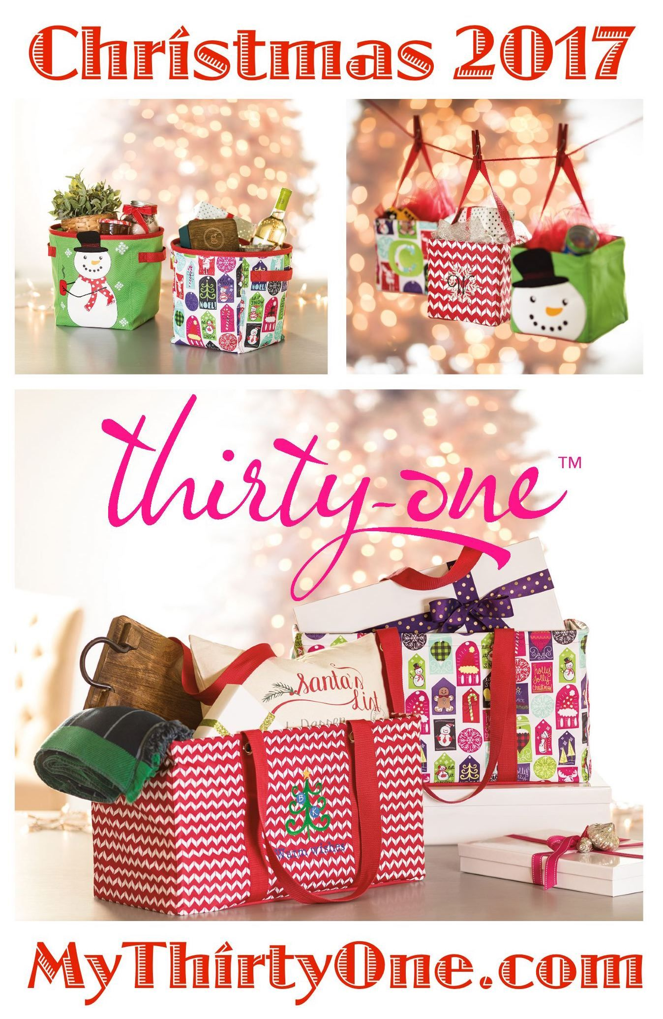 Thirty one november customer special 2014 - Christmas Starts October 1st 2017 At Thirty One Gifts Medium Utility
