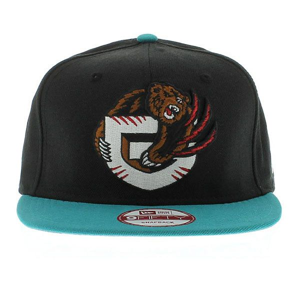 fafcb2e1f87d4 Vancouver Grizzlies Team Colors (Gray Under) SNAPBACK New Era Caps
