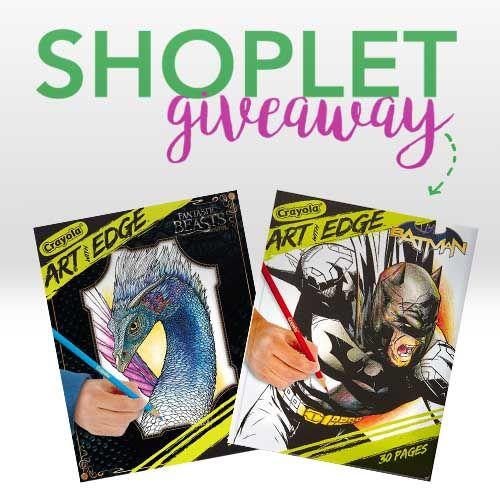 Win a Set of Crayola Art Edge Coloring Books (CLOSED ...