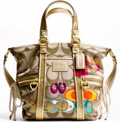 my new beautiful coach purse from mimi for christmas - Christmas Purses Handbags