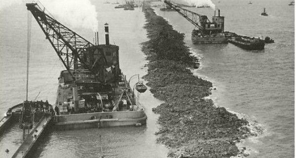 De aanleg van de Afsluitdijk - bewri