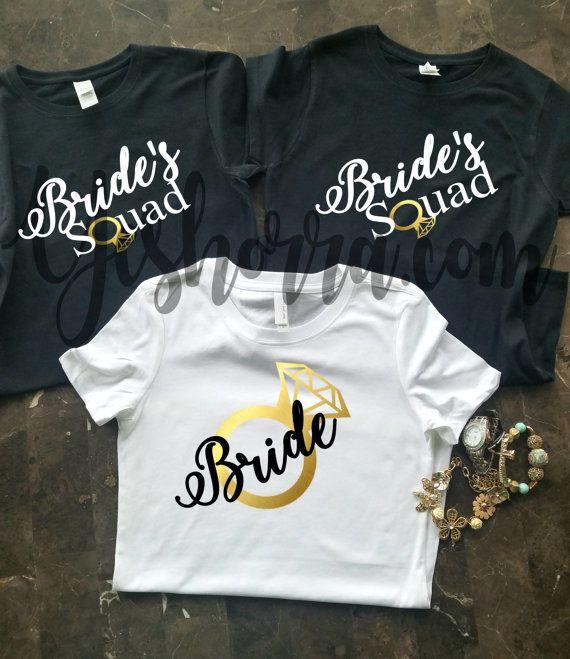 Bridal Shirts, Bride Tanks, Bride & Bride Squad Tank Tops