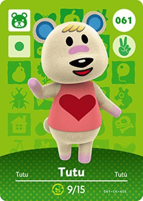 Nintendo Animal Crossing Happy Home Design Tutu Amiibo