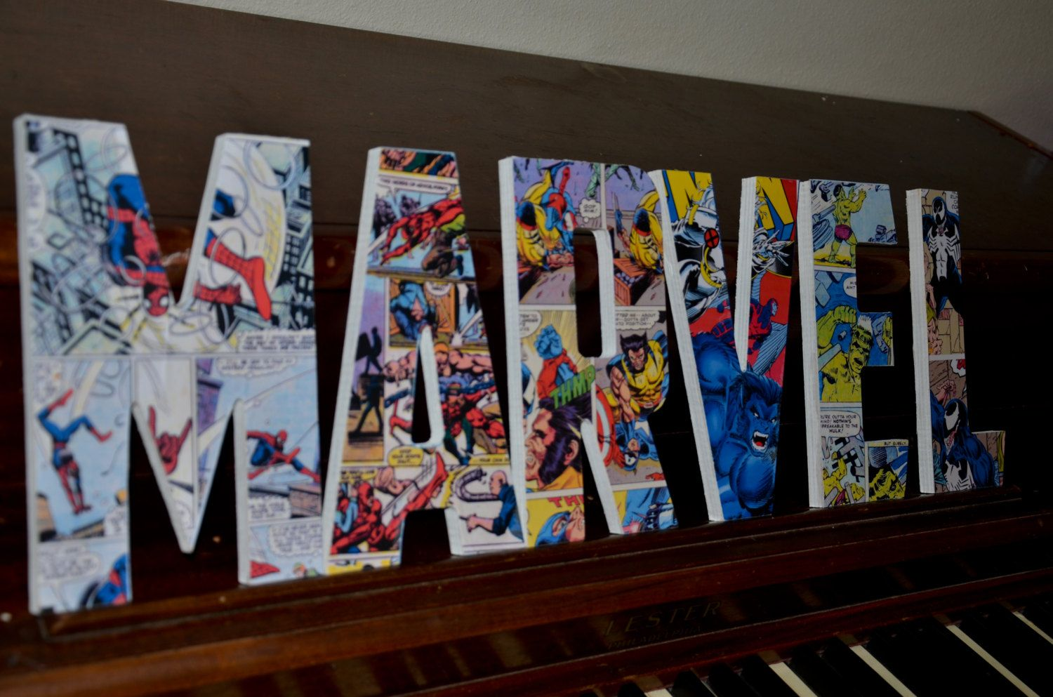 marvel bedroom decoration boy superhero room marvel font superman