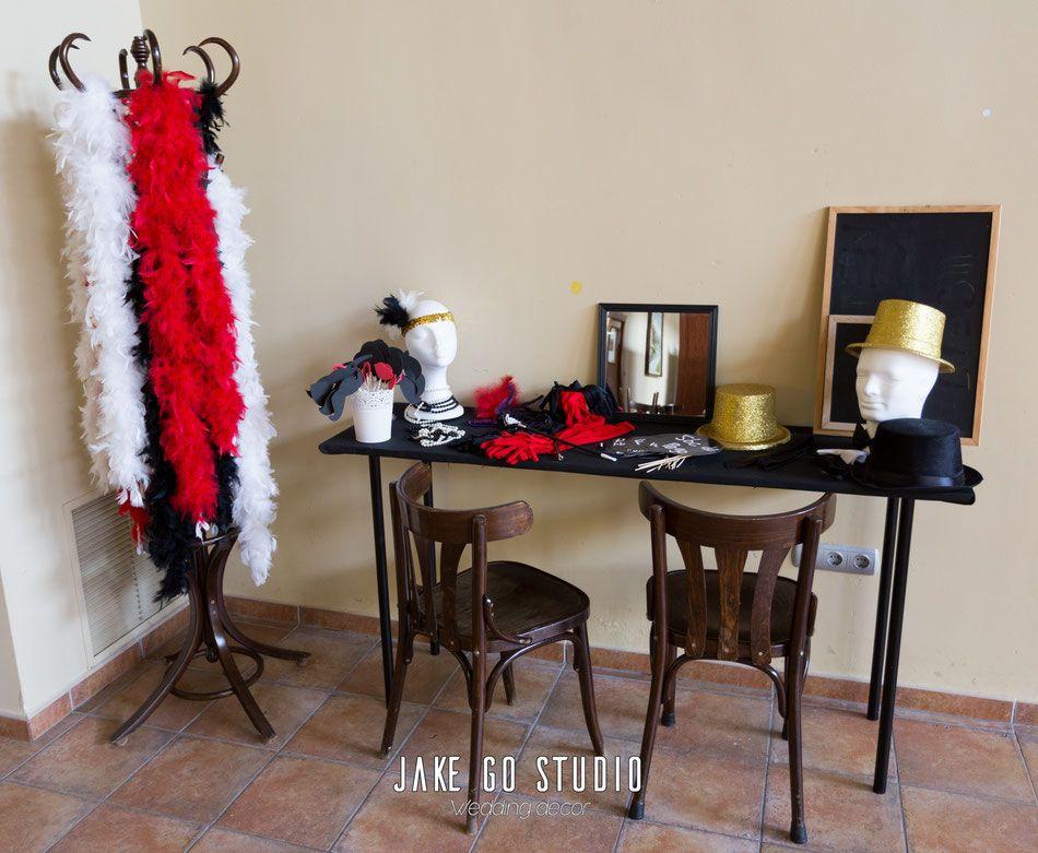 Decoraci n de boda vintage y cabaret jake go studio - Decoracion alicante ...