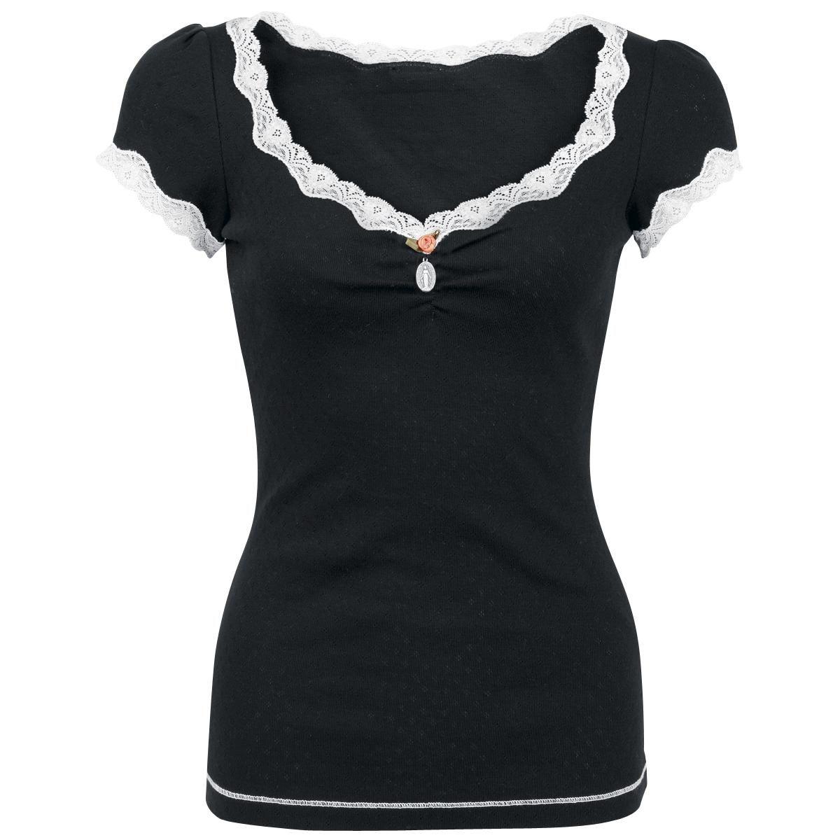 My Soft Basic Shirt - Girlie trøje af Vive Maria - Artikelnr.: 225107 - fra 299,95 kr - EMP Danmark ::: Merchandise ::: Streetwear ::: Modetøj