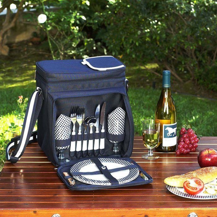 Picnic at Ascot Picnic Basket Backpack Cooler for 2 #PICNICATASCOT