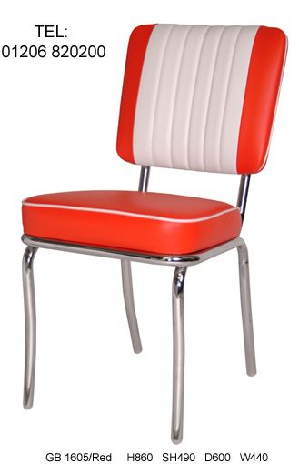 American Diner Chairs yey Retro Furniture 50s American Diner Kitchen Half Booth Set   Red  . Red Retro Diner Chairs. Home Design Ideas