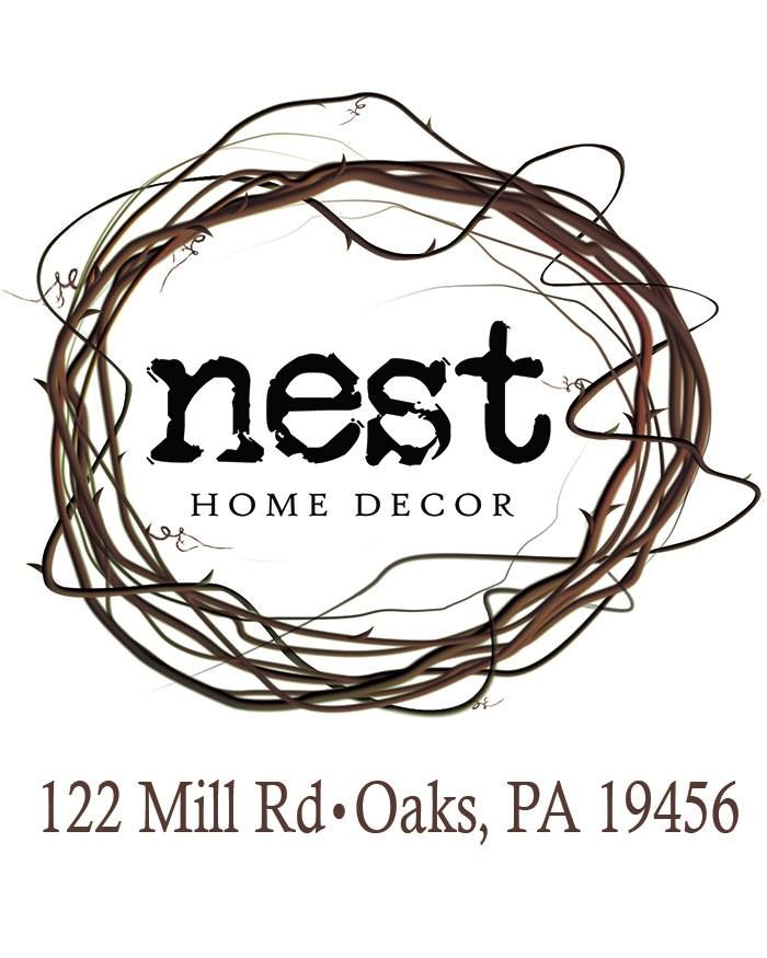 Nest Home Decor 122 Mill Road Oaks Pa 484 924 9336 Www