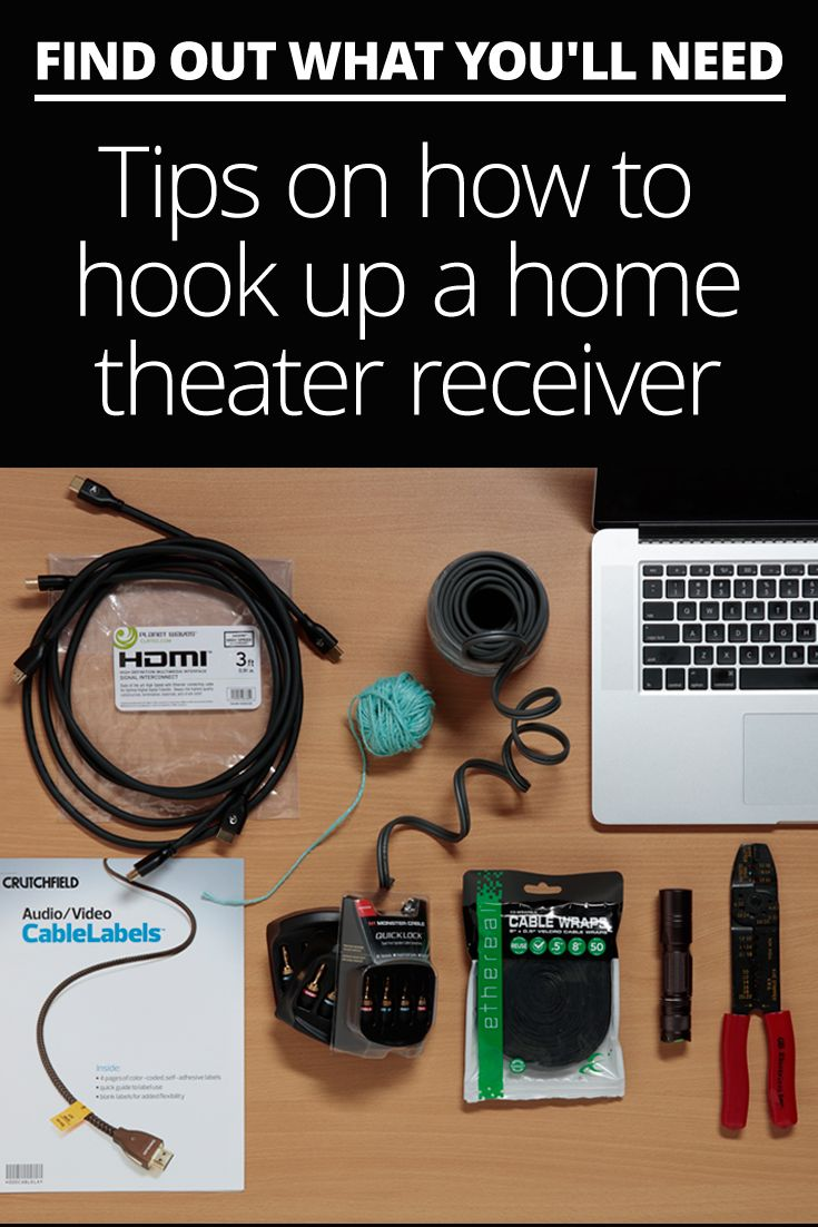 how to set up your home theater receiver diy audio video rh pinterest com Home Structured Wiring Home Structured Wiring