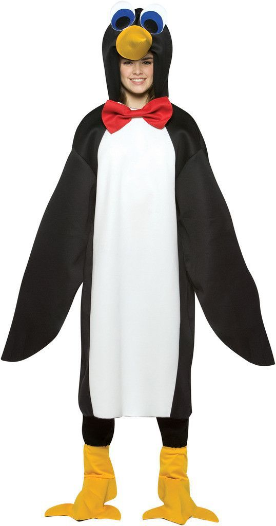 Penguin Teen Costume | Costume Made Pinguin | Pinterest