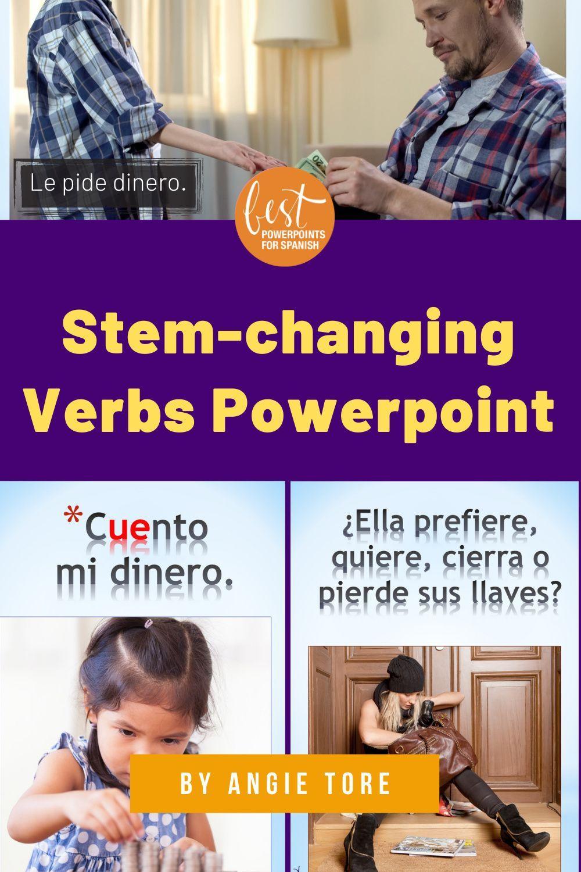 Spanish Stem Changing Verbs Powerpoint Interactive Notebook Activity In 2021 Interactive Notebook Activities Interactive Notebooks Verbs Powerpoint [ 1500 x 1000 Pixel ]