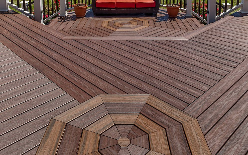 Use Your Creativity To Add Charming Accents To Your Deck Flooring