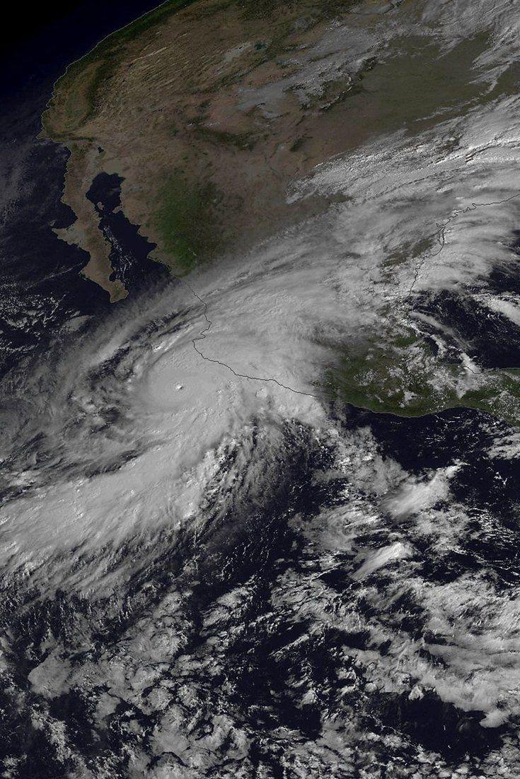 Powerful Hurricane Patricia Hits Mexico S Pacific Coast Pacific Coast Coast Mexico