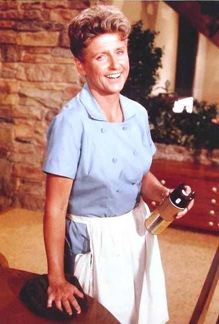 """Everyone's favorite housekeeper, """"Alice"""" aka Ann B. Davis from The Brady Bunch has just passed. Gone , but her wit & wisdom will never be forgotten."""