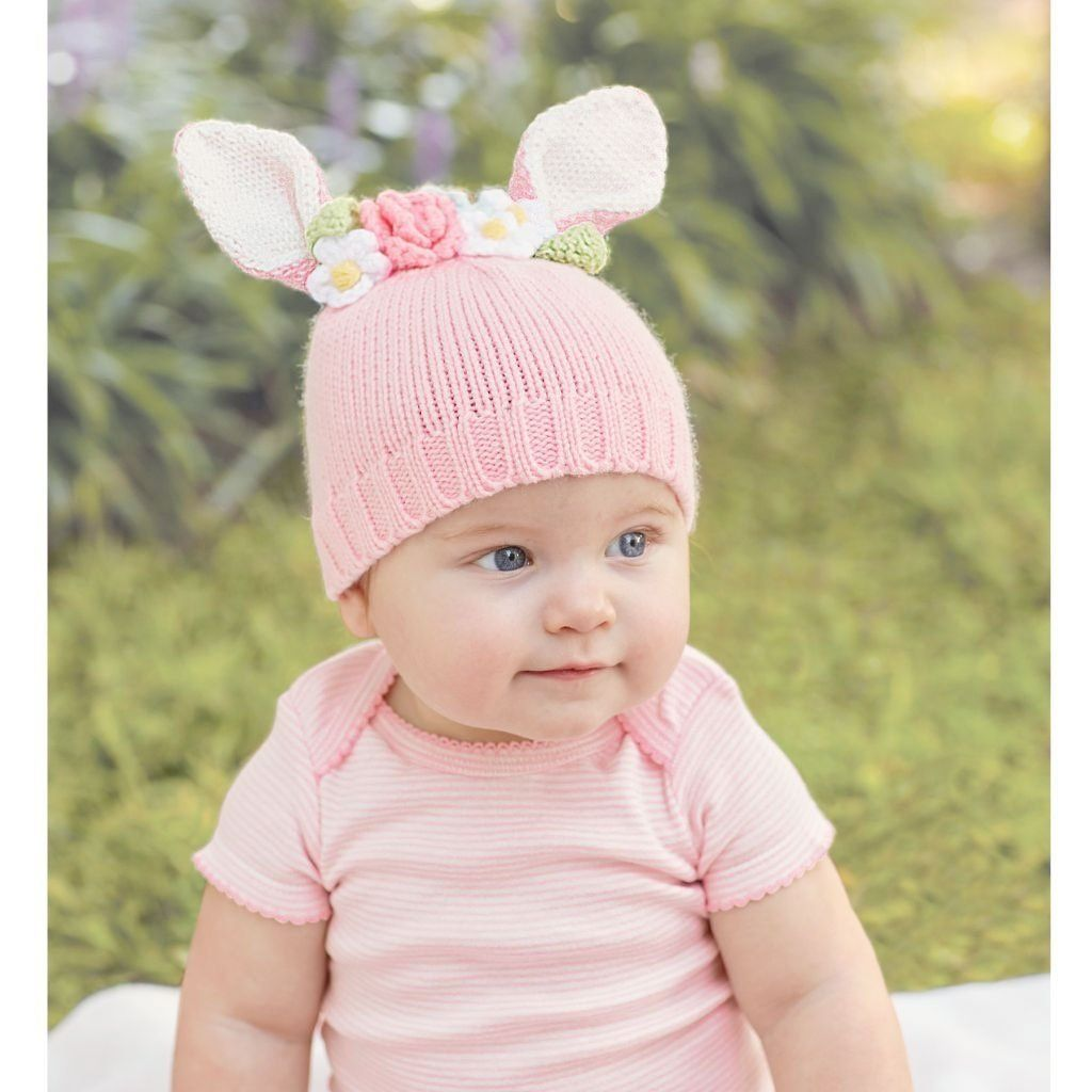 a190917d7 Knit Bunny Hat | Products | Knitted hats, Bunny hat, Baby hats