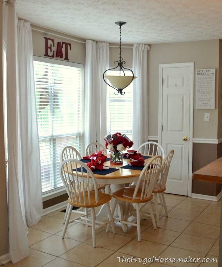 Inexpensive Kitchen Curtain Ideas: Behr Wheat Bread On Top Walls