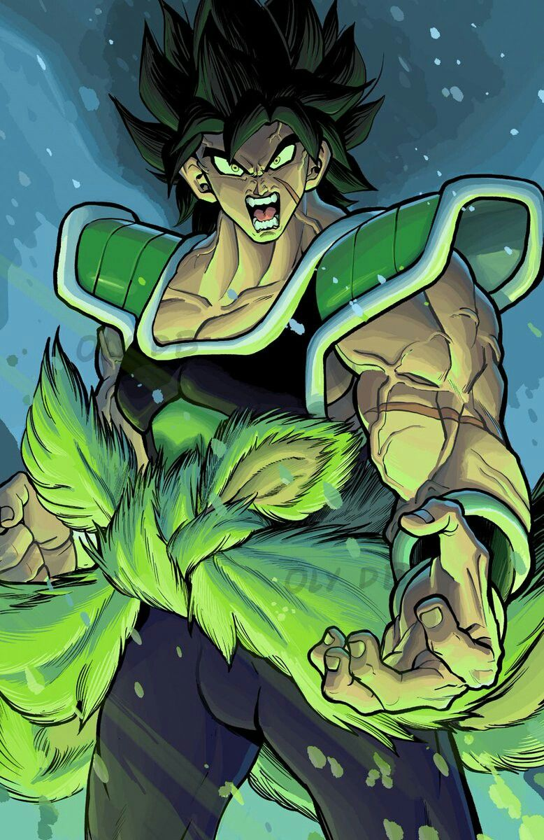 Broly the legendary super saiyan strip pinterest - Broly dragon ball gt ...