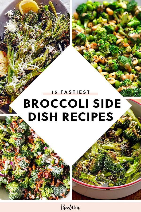 15 Broccoli Side Dish Recipes You've Never Tried #tacosidedishes 15 Broccoli Side Dish Recipes You've Never Tried #purewow #Broccoli #sidedish #veggies #vegetable #tacosidedishes