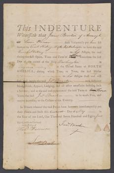 Indentured Servants in Colonial Virginia Indentured