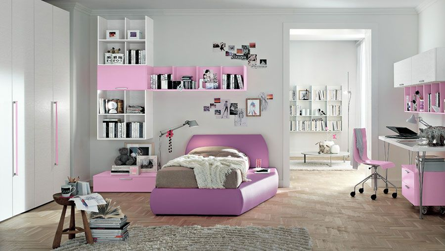 Camere Per Ragazzi Moderne.Camerette Moderne Per Ragazze Ecco 20 Bellissimi Modelli