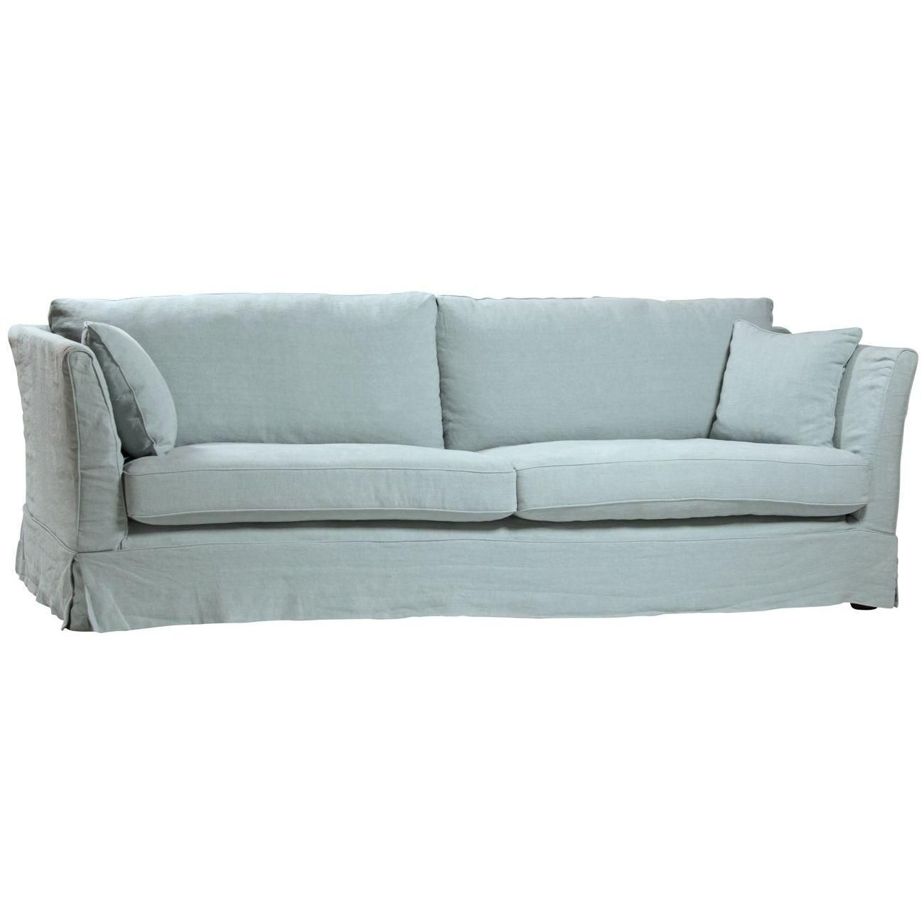 Adelle Sofa By Dovetail Furniture For The Home Sofa Linen Sofa