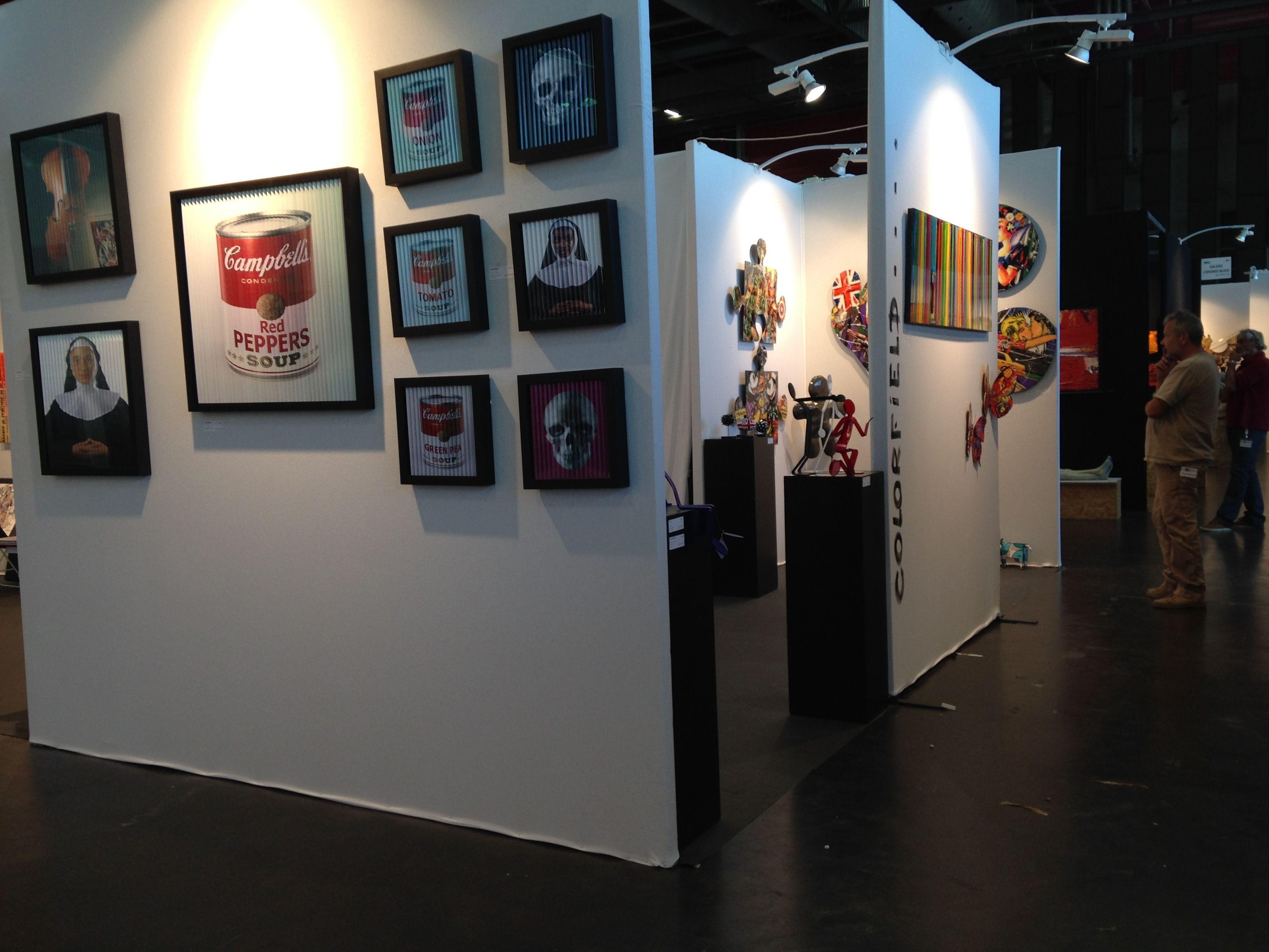 La Colorfield Gallery team prête pour le salon Art3G Bordeaux du 26 au 28 septembre